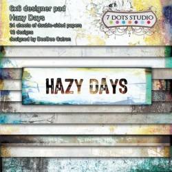 Zestaw papierów do scrapbookingu Hazy days - 7 Dots Studio