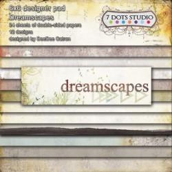 Zestaw papierów do scrapbookingu Dreamscapes - 7 Dots Studio