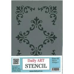 Szablon Daily ART Vintage F - do decoupage i scrapbookingu