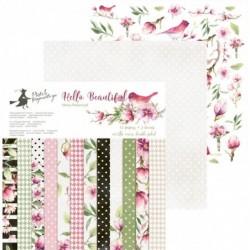Zestaw papierów do scrapbookingu Hello Beautiful - Piątek Trzynastego