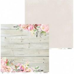 Papier do scrapbookingu z kolekcji Love in bloom - Piątek Trzynastego