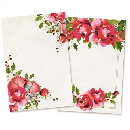 Karty do journalingu Rosy Cosy Christmas, 6x4 [P13]