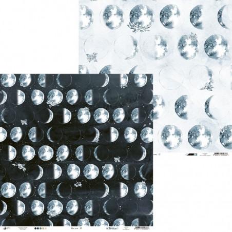 Papier do scrapbookingu 12x12, New Moon 01 [P13]