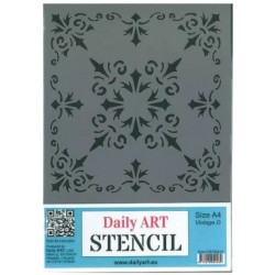 Szablon Daily ART A4 Vintage D - do decoupage i scrapbookingu