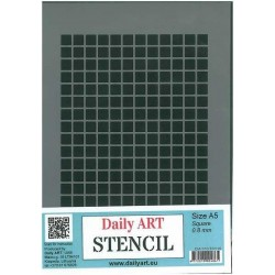 Szablon Daily ART Square 0.8 - do decoupage i scrapbookingu