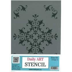 Szablon Daily ART Vintage G - do decoupage i scrapbookingu