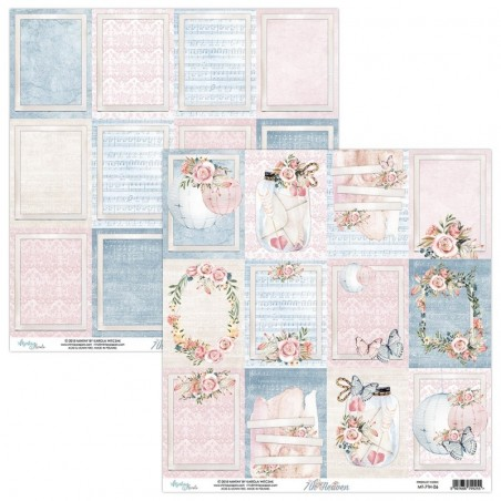 Papier do scrapbookingu 12x12, 7th Heaven 06