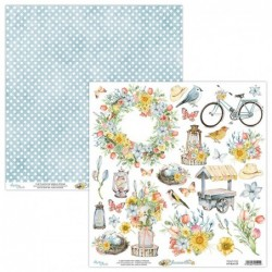 Papier do scrapbookingu Mintay Bloomville