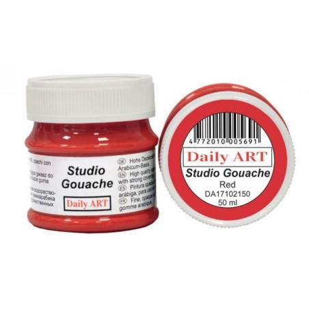 Gwasz Studio Gouache Daily ART, Red, 50 ml
