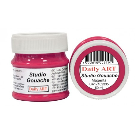Gwasz Studio Gouache Daily ART, Magenta, 50 ml