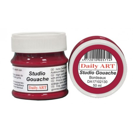 Gwasz Studio Gouache Daily ART, Bordeaux, 50 ml