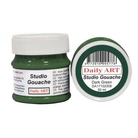 Gwasz Studio Gouache Daily ART, Dark Green - ciemnozielony, 50 ml