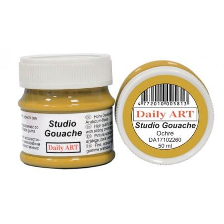 Gwasz Studio Gouache Daily ART, Ochre - ochra, 50 ml