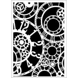 Szablon Daily ART Clockwork - zegary i trybiki