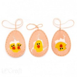 Zestaw kreatywny dla dzieci, Wielkanocne jajka