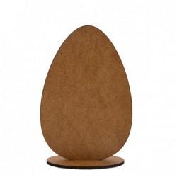 Dekoracja z HDF jajko.
