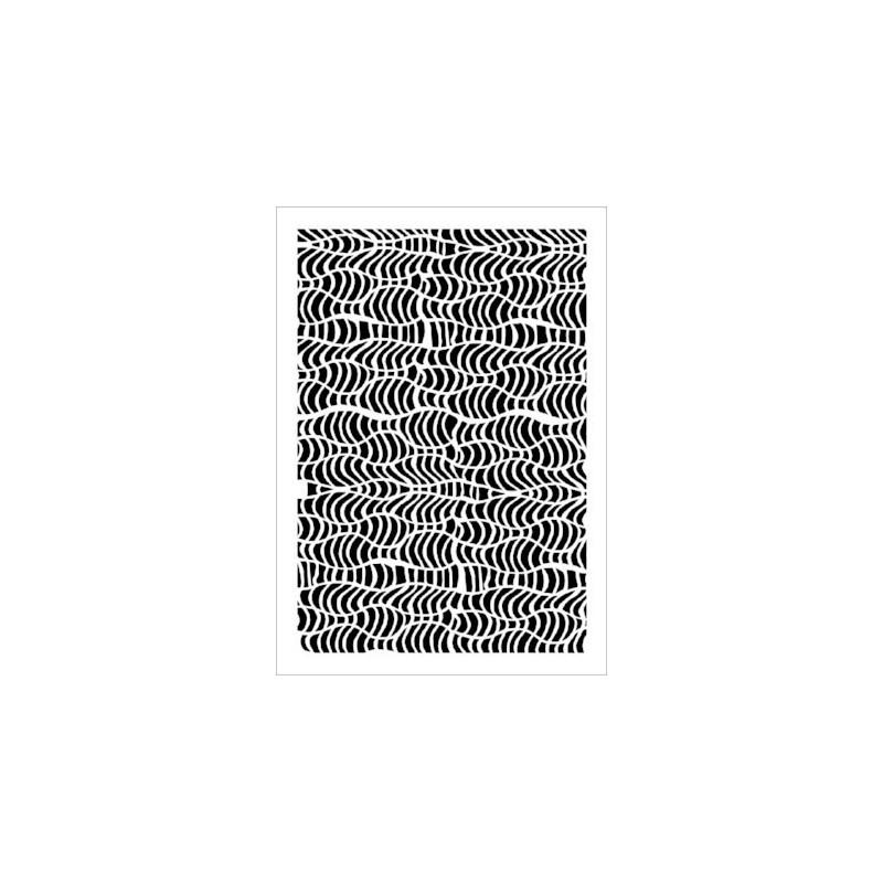 Szablon Daily ART Macrame - do decoupage i scrapbookingu