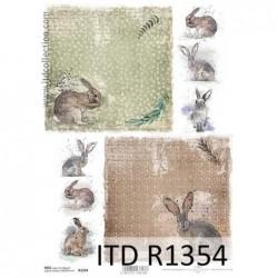 Papier ryżowy A4 ITD R1354,...