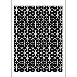 Szablon Daily ART tło geometryczne - do decoupage i scrapbookingu