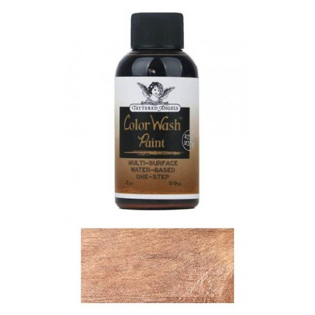 Farba Tattered Angels Color Wash Paint, Bronze - Faux Finish, 59 ml