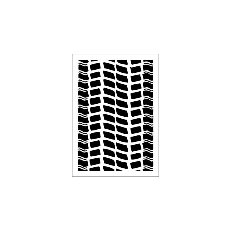 Szablon Daily ART Wheel Trace - do decoupage i scrapbookingu