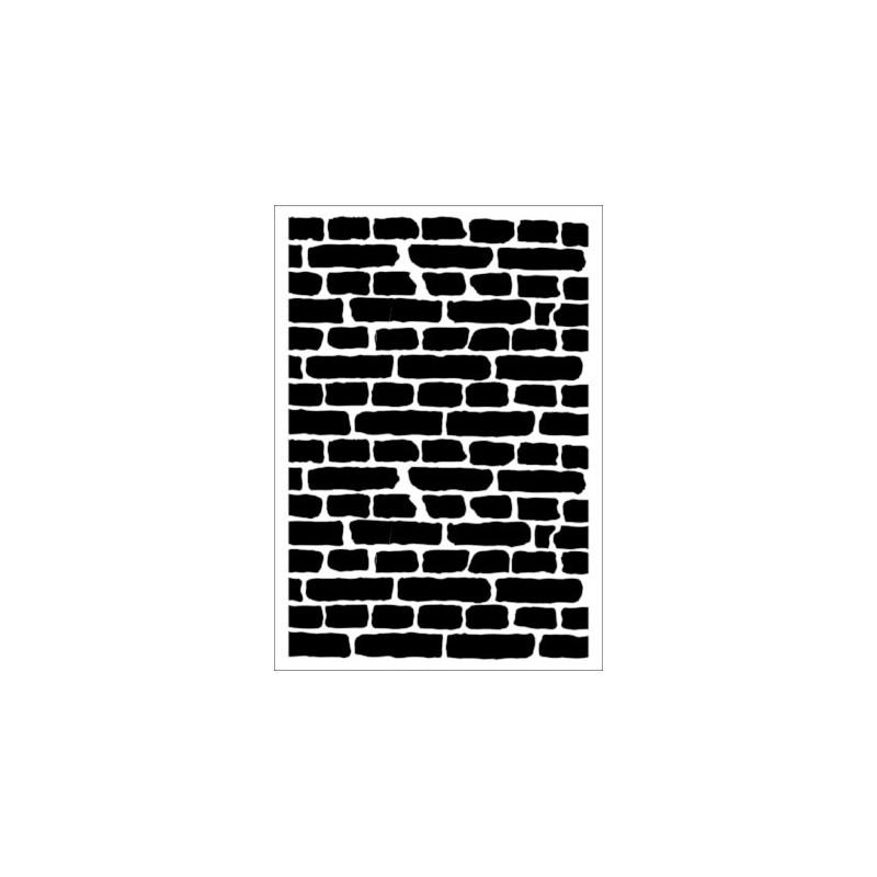 Szablon Daily ART A4 Old Brick Wall - do decoupage i scrapbookingu