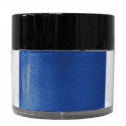 Pigment perłowy Daily Art - proszek mikowy niebieski ciemny