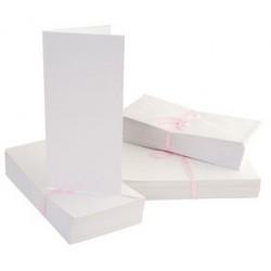 Zestaw kart i kopert DL Anita's białe 10 szt.