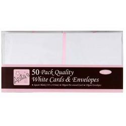 Zestaw kart i kopert kwadratowych Anita's