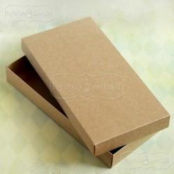 Pudełko pełne kraft na kartkę podłużną DL 22x11