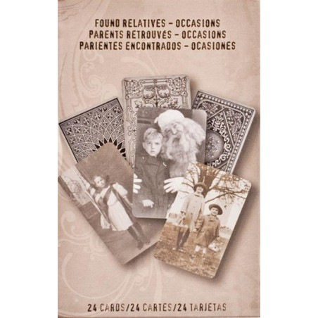 Karty vintage, dea-Ology Found Relatives Cards, Occasions [TH93147]