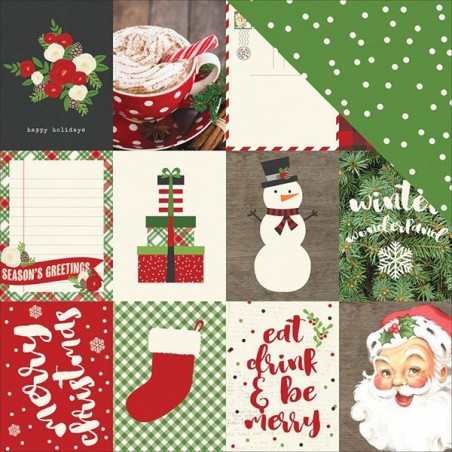 Papier do scrapbookingu, Very Merry: 3x4 Journaling Card Elements [Simple Stories 9252]