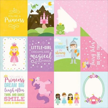 Papier do scrapbookingu, Perfect Princess: 3x4 Journaling Cards [PP130011] [Echo Park]