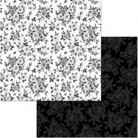 Papier do scrapbookingu 12x12, Black Tie Affair, Black Tie [Bo Bunny]
