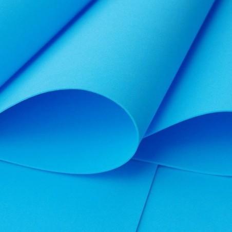 Foamiran irański 70x60 cm, niebieski [17]