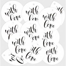 Zestaw tagów With Love 01...