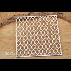 Zestaw elementów tekturowych, Alamor - siatka ozdobna 4716 [Scrapiniec]