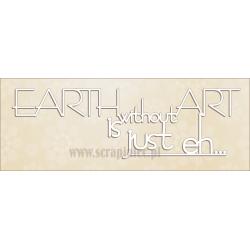 Zestaw elementów tekturowych, Earth without napis , 2800 [Scrapiniec]