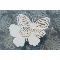 Zestaw elementów tekturowych, Motyl ażurowy 03 duży, 2481 [Scrapiniec]