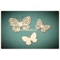 Motylki ażurowe 03 zestaw 2474 [Scrapiniec]