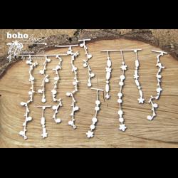 Zestaw elementów tekturowych, Boho Love- duże girlandy 02 5151 [Scrapiniec]