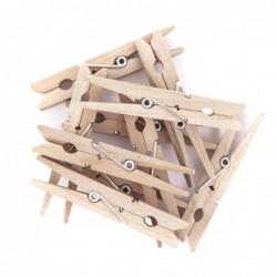 Klamerki drewniane 7.2 cm, 10 szt. [CEOZ-129]