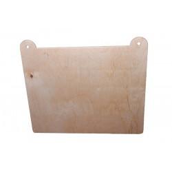 Tabliczka drewniana 31x27 / 6 mm [AKD]