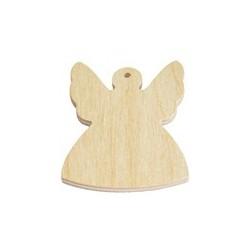 Zawieszka drewniana, Aniołek 10 cm