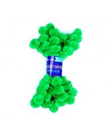 Girlanda z pomponów - zielona [KSPO-048]