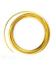 Drucik kreatywny 2 mm - złoty