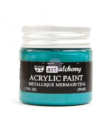 Farba metaliczna Prima Art Alchemy, Mermaid Teal - turkusowa