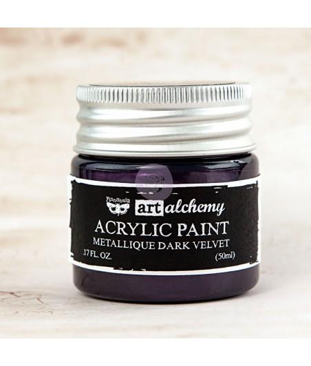 Farba metaliczna Prima Art Alchemy, Dark Velvet - fioletowa