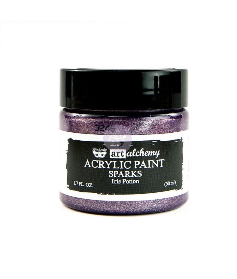 Farba metaliczna Prima Art Alchemy, Iris Potion - fioletowa