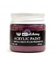 Farba metaliczna Prima Art Alchemy, Plum Preserves - śliwkowa